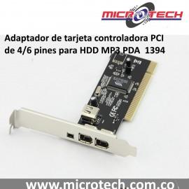 1394 Adaptador de tarjeta controladora PCI