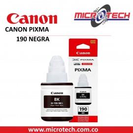 BOTELLA DE TINTA CANON GI-190BK NEGRO