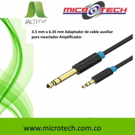 3.5 mm a 6.35 mm Adaptador de cable auxiliar