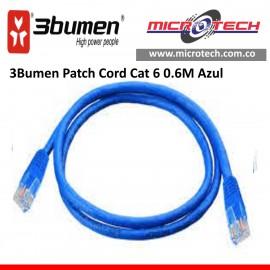 3Bumen Patch Cord Cat 6 0.6M