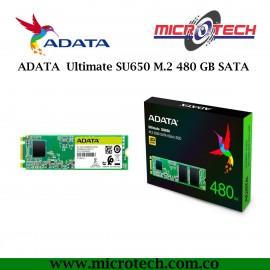 ADATA  Ultimate SU650 M.2 480GB  SATA
