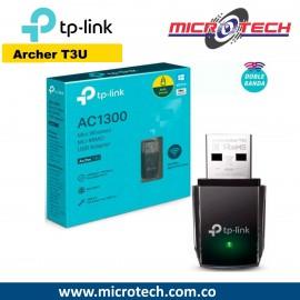 Adaptador Usb Wifi Mumimo Ac1300 Dual Band Tplink Archer T3u