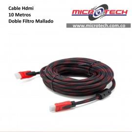 CABLE HDMI ENMALLADO 10M
