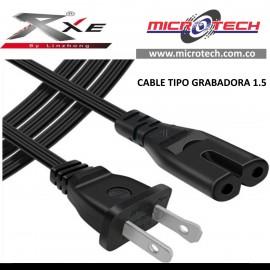 Cable de Poder Tipo Grabadora