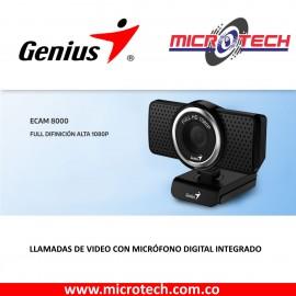 Cámara Web Genius Ecam 8000 1080p Full Hd