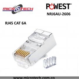 Conector RJ-45 CAT 6A