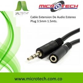 Cable Extension De Audio Estereo Plug 3.5mm 1.5mts.