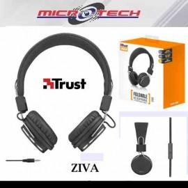 Audifonos Diadema Alambrico Trust Ziva
