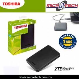 Disco Duro 2tb 3.0 Externo  Toshiba