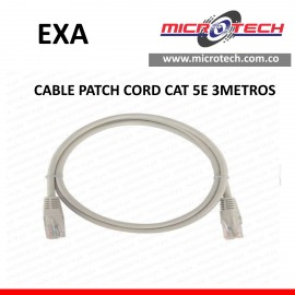 CABLE PATCH CORD CAT 5E
