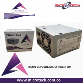 FUENTE DE PODER ALFATEK POWER BOX