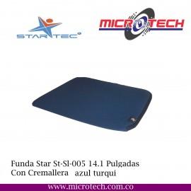 """Funda Star Tec 14,1"""" St-Sl-005 Negro"""