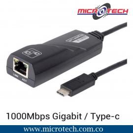 Adaptador De Red Lan Gigabit Ethernet Tipo C (usb-c) A Rj45