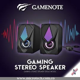 Parlante Gamer Xtrike Me Sk402 Rgb 3.5mm Usb Control Volumen