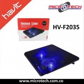 Base Para Portatil Havit Hv F2035 2 Ventiladores