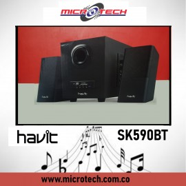 Havit SK590BT 2.1 Multi-Function USB Speaker With Bluetooth
