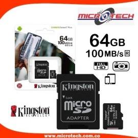Memoria micro SD Kingston 64 GB
