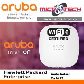 access Point  Wi-Fi 6 Aruba Instant On AP22,