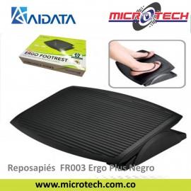 Reposapiés Aidata FR003 Ergo Plus Negro