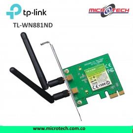arjeta Red Pci Express Wifi N 300mbps Tp-link Tl-wn881nd