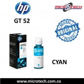 Botella de tinta HP GT52 Color Azul Original