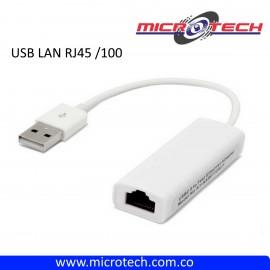 ACOPLE USB A LAN RJ45