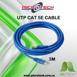 Cable UTP cruzado Cat.5e 3m