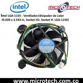 Intel LGA-1155 - Ventilador/disipador de calor