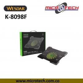 Base refrigerante Wesdar K-8098F 5 ventiladores