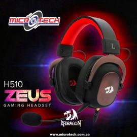 Auriculares para juegos con sonido envolvente 7.1 Redragon H510 Zeus 2