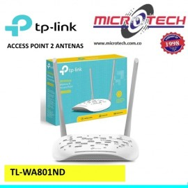 ACCESS POINT TP-LINK TL-WA801ND  2 ANTENAS