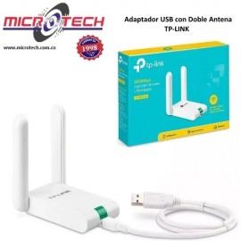 Adaptador USB Inalámbrico de Alta Ganancia 300Mbps