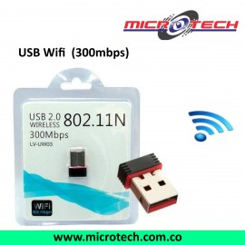 Adaptador Nano USB WIFI 300 MBPS