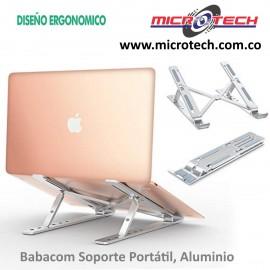 Babacom Soporte Portátil, Aluminio