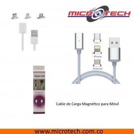 Cable de carga magnético para móvil,