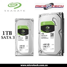 "Disco Duro 1TB para PC 3.5"", Seagate BarraCuda"