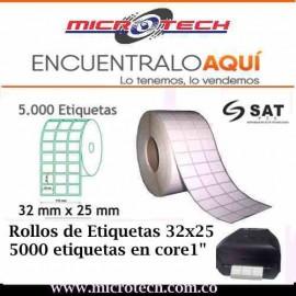 ROLLO DE ETIQUETA 32X25
