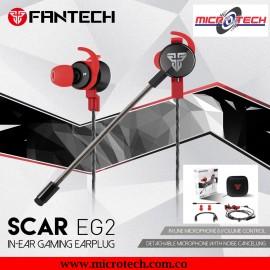 Audífonos  Interno Para Juegos Fantech Scar EG2