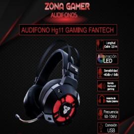 Audífono Gamer Fantech HG11 Captain 7.1