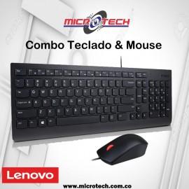 Combo teclado y mouse con cable de USB de Lenovo