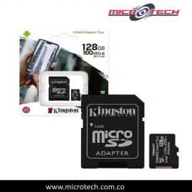 Memoria MicroSD KINGSTON  128GB