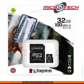 Memoria Micro Sd Clase 10 Kington 32gb
