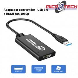 Adaptador convertidor  USB 3.0 a HDMI