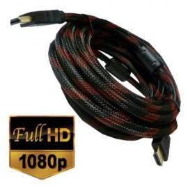 CABLE HDMI ENMALLADO 5M