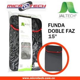 """FUNDA DOBLE FAZ DE 15"""" JALTECH"""