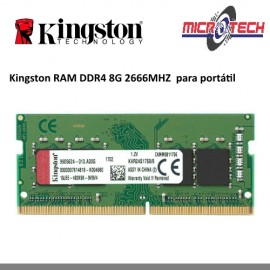 Kingston RAM DDR4 8G 2666MHZ