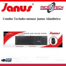 Combo Teclado+mouse Janus Alámbrico