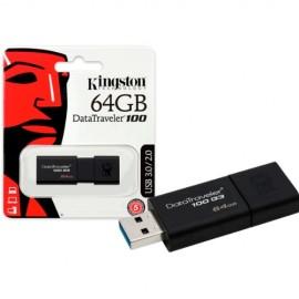 Memoria USB DataTraveler 100 G3 64GB 3.0 kingston