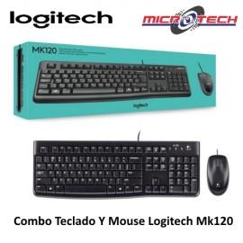 LOGITECH COMBO TECLADO MOUSE DESKTOP MK120
