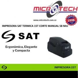 IMPRESORA SAT TERMICA 15T CORTE MANUAL 58 Mm